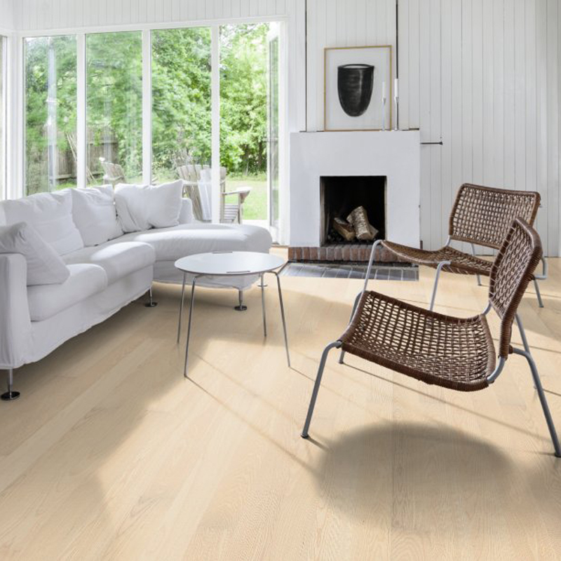 Паркетная доска UPOFLOOR Ash Fp 138 Select White Oiled