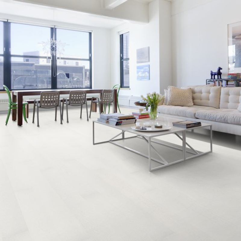 Паркетная доска UPOFLOOR Oak Grand White Marble 2000