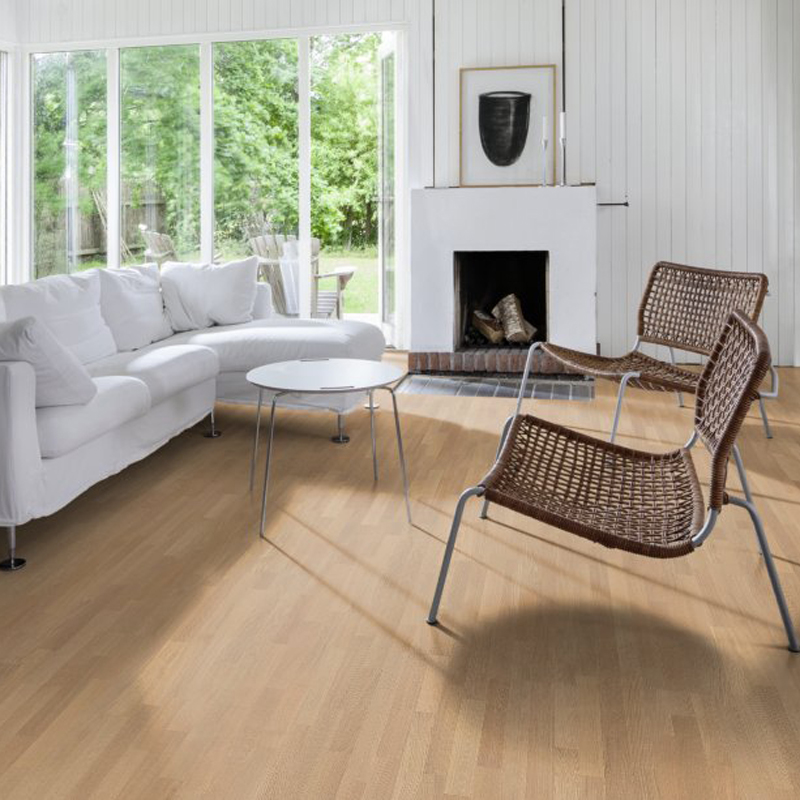 Паркетная доска UPOFLOOR Oak Select White Oiled 3S